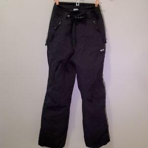 Salomon Woman's Snowpants Black